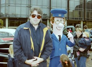 Gareth with Postman Pat