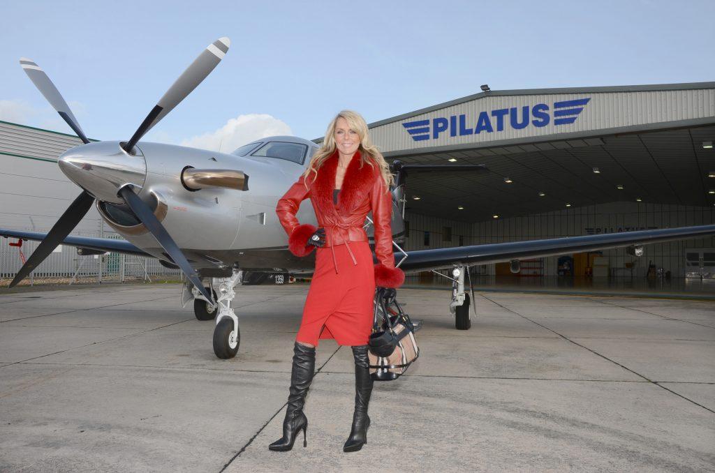 Pilatus 51 Celia Sawyer with PC-12